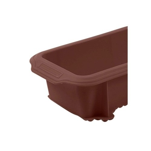Forma para Pão em Silicone Glacê Brinox Chocolate