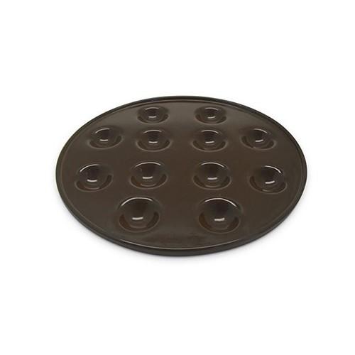 Provolera Cerâmica para provolone 28CM - CHOCOLATE