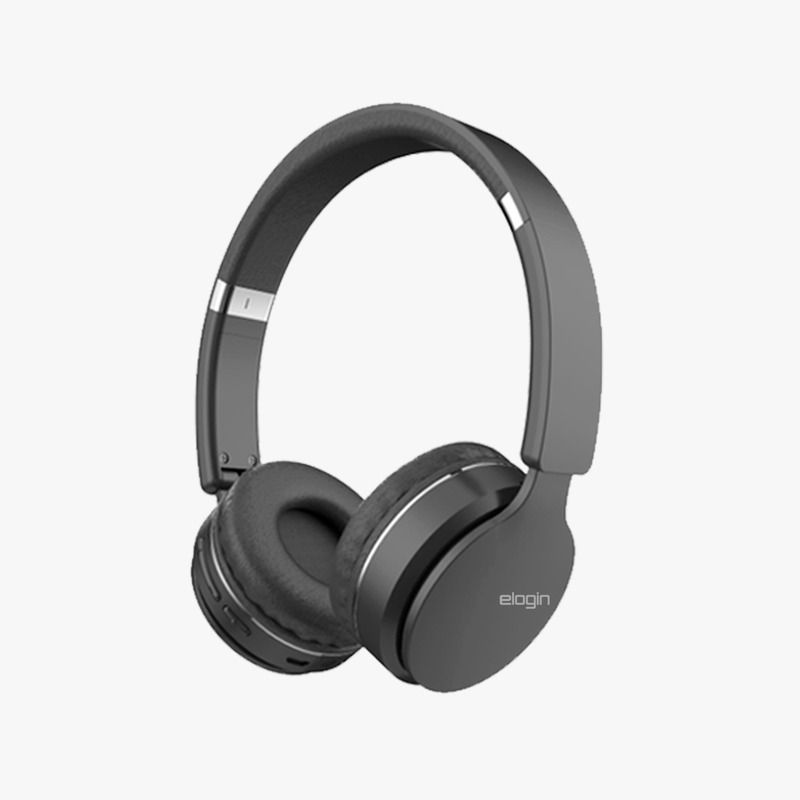 HEADPHONE ELOGIN WIRELESS LIGHT PRETO - HF02
