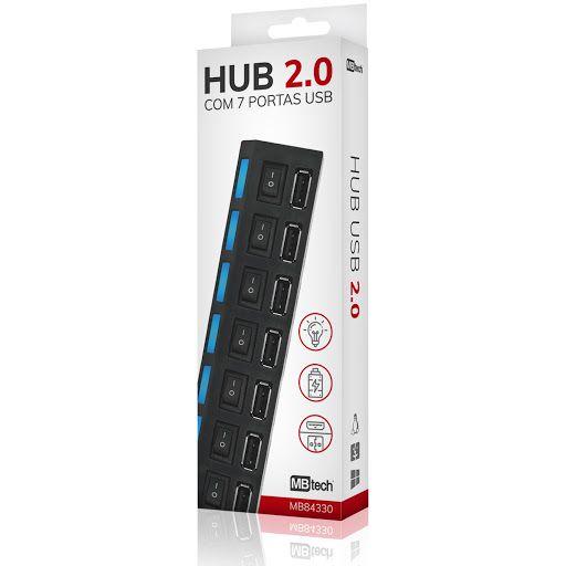HUB USB C/7 ENTRADAS MBTECH