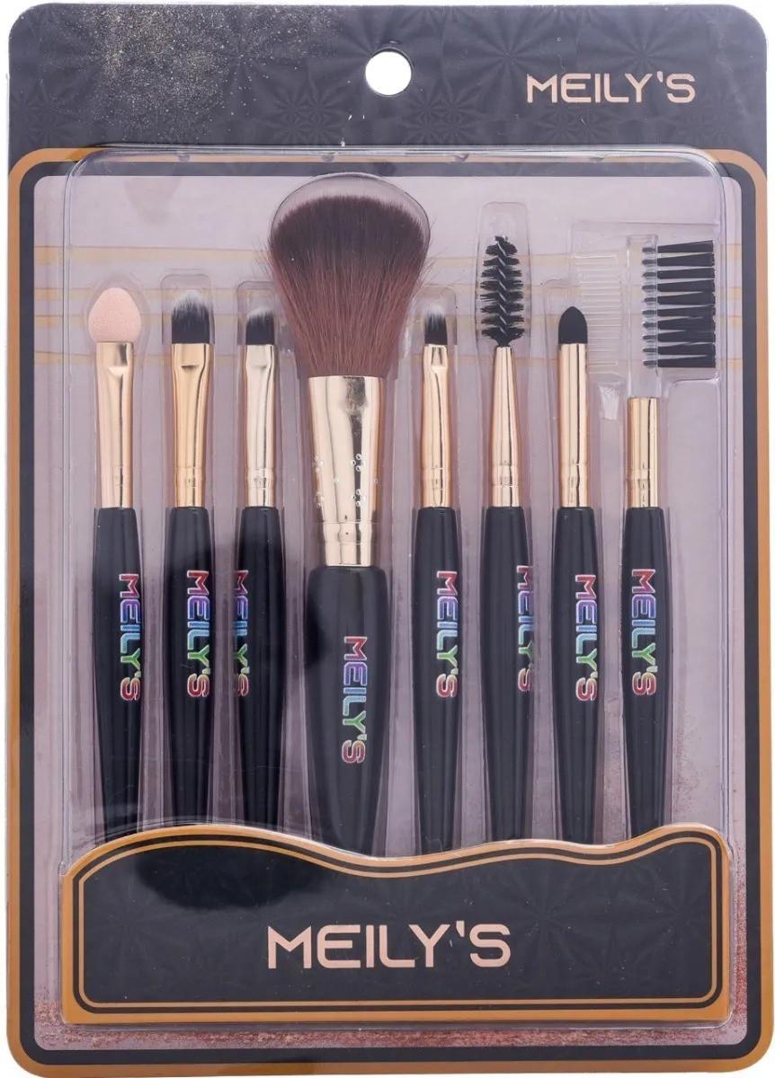 Kit de Pincéis para Maquiagem 8 peças