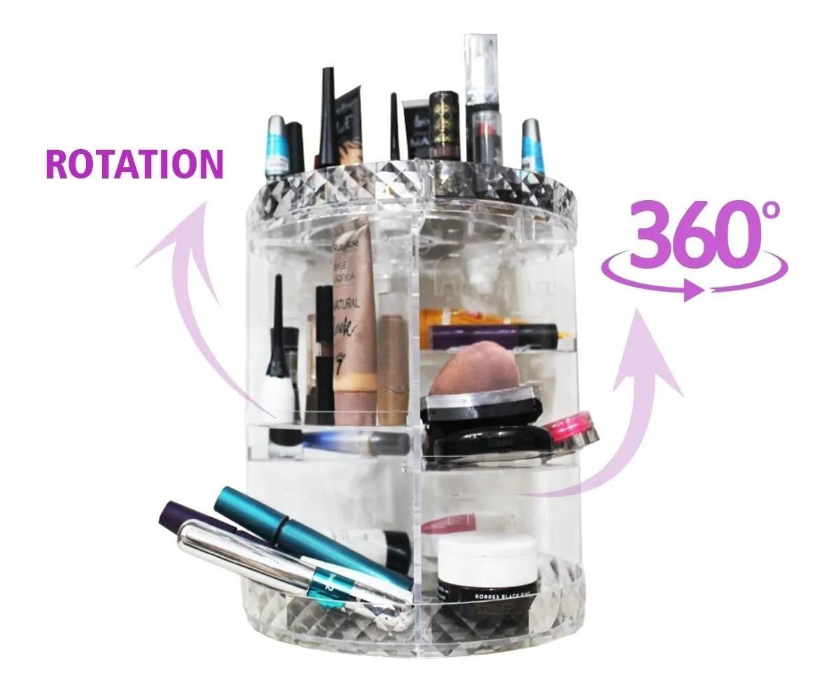 Organizador De Maquiagem E Cosméticos Haiz Giratório 360º