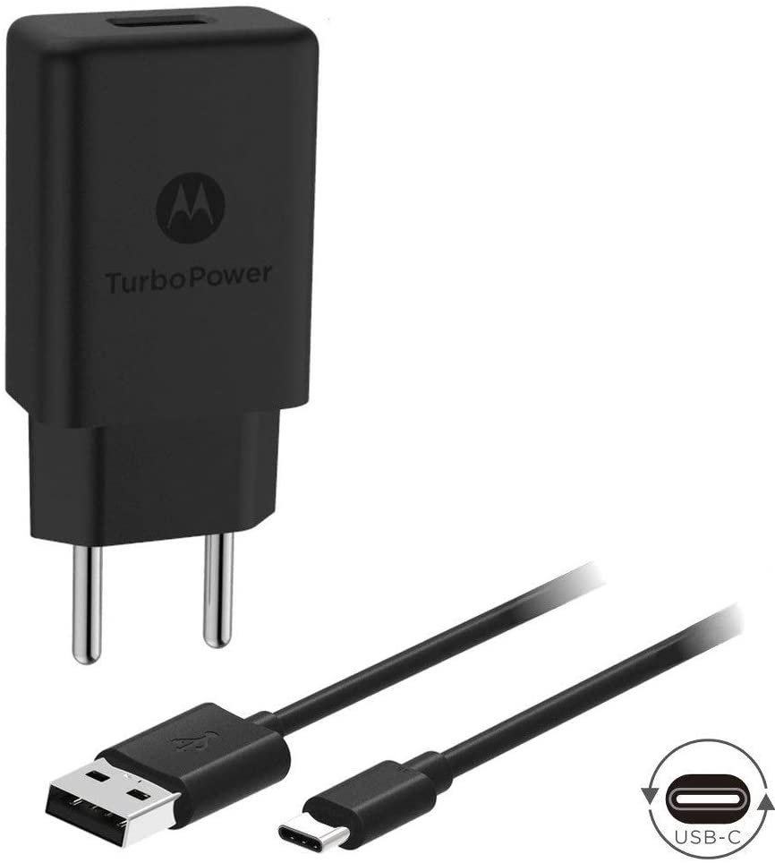 Carregador Motorola Turbo Power USB-C 15W