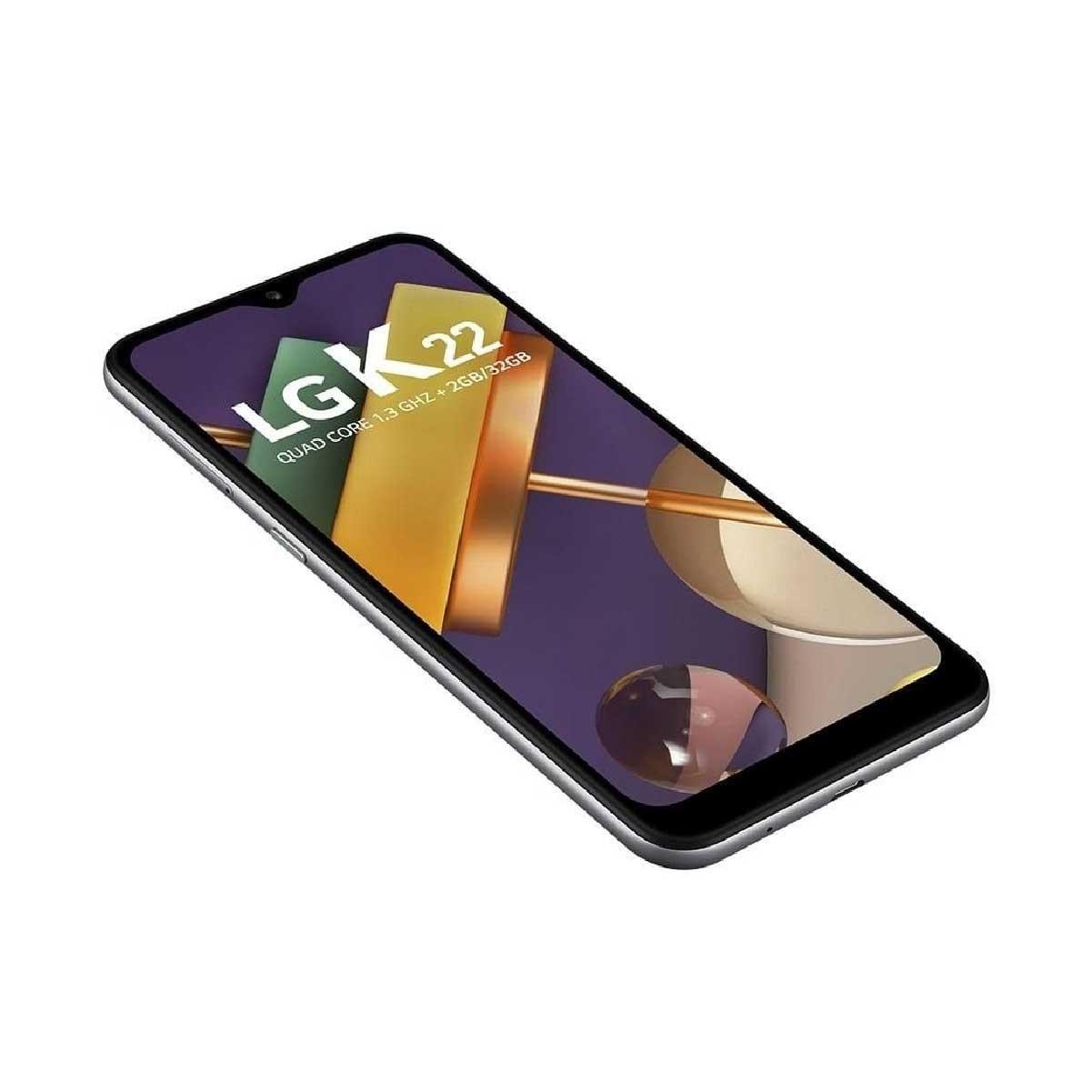 LG K22 - Titanium
