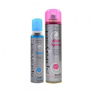 Sprayset Hair Spray Fixador De Penteado Forte 400ml