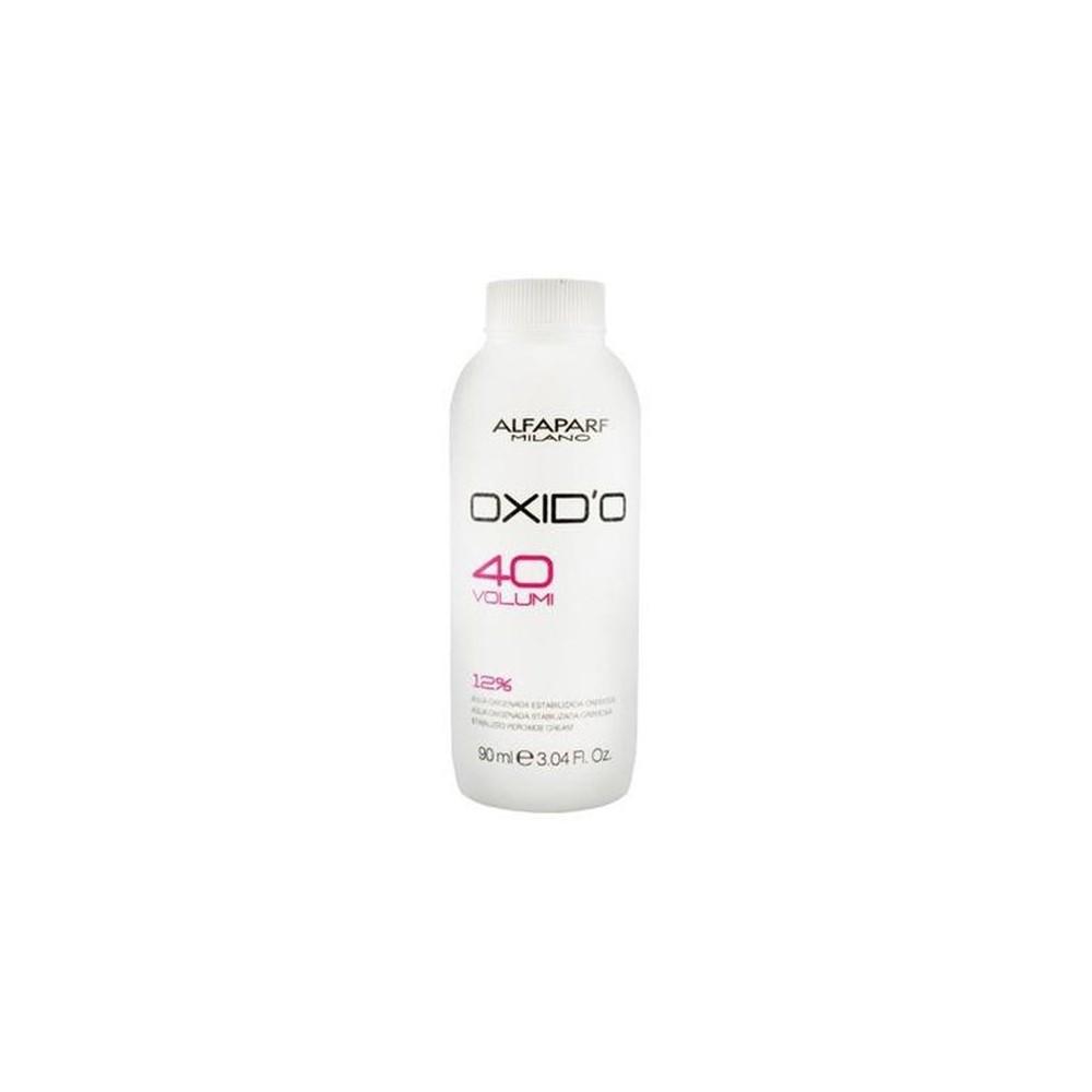 Alfaparf Oxid'O H202 Oxigenada Estabilizada Cremosa  40Vol 90Ml