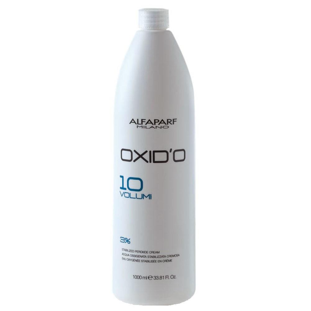 Alfaparf Oxido H2o2 Oxigenada Estabilizada Cremosa 10 Vol 1000ml