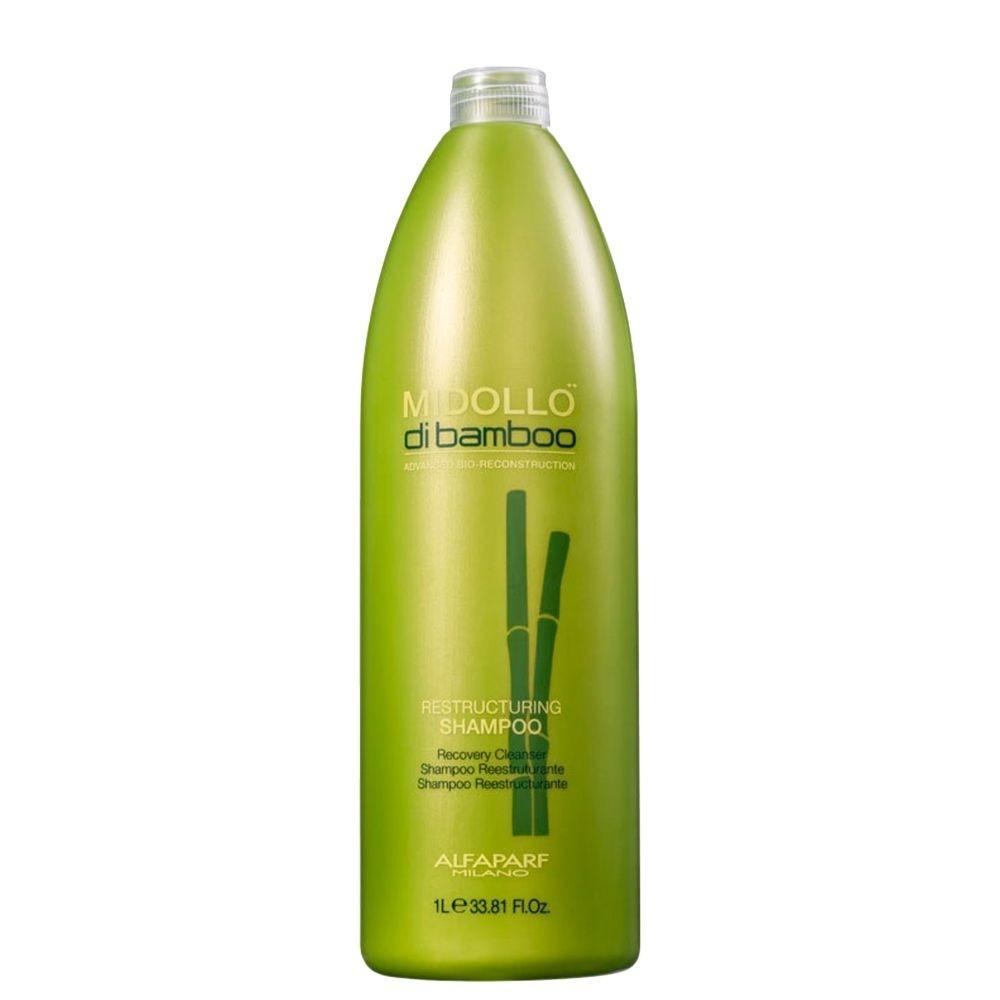 Alfaparf Shampoo Midollo Di Bamboo Reestruturação Capilar 1L