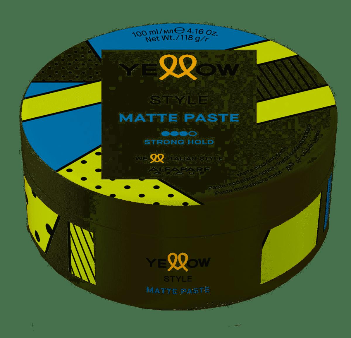 Yellow Style Matte Paste Efeito Opaco 100 ml