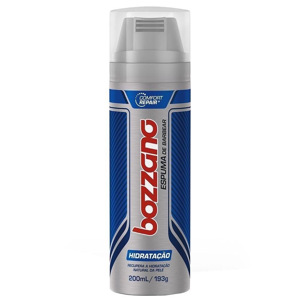 Bozzano Espuma Barbear Hidratação 193g