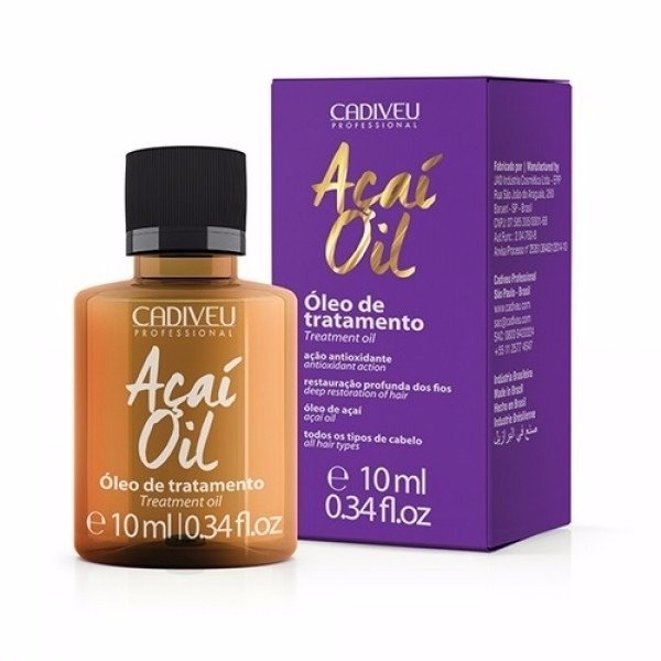 Cadiveu Açaí Oil Therapy Óleo De Tratamento - 10ml