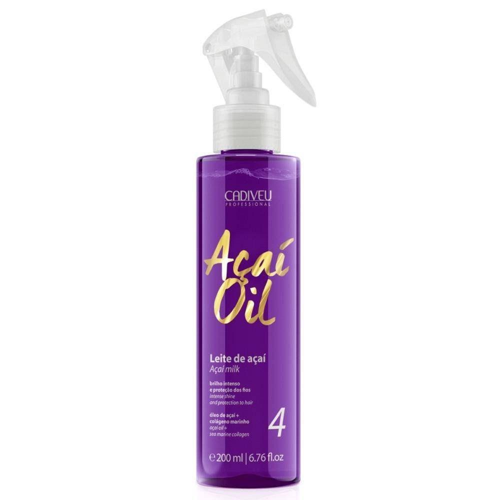 Cadiveu Protetor Térmico Açaí Oil Leite De Açaí 200ml