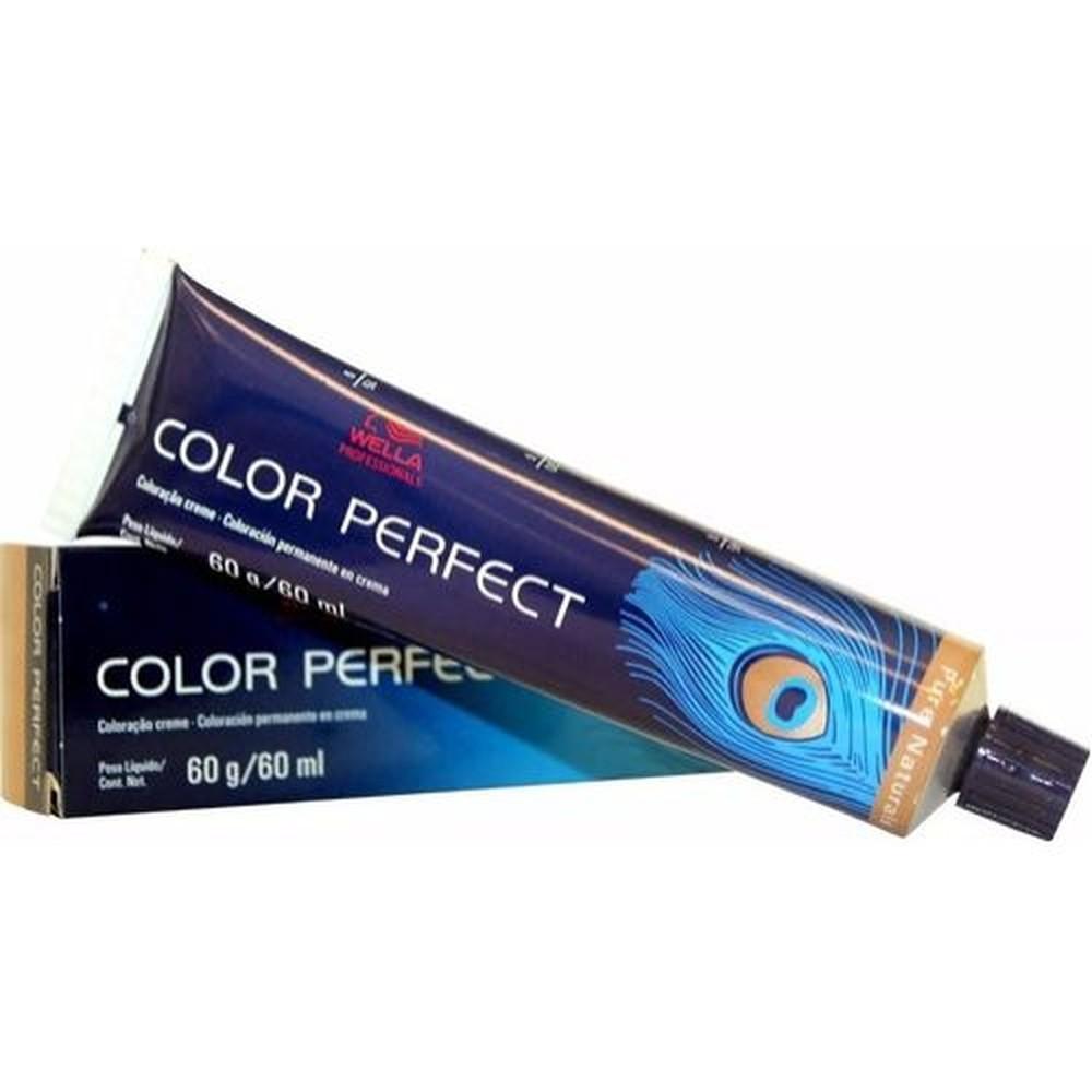 Wella Color Perfect 6/73 Marrom Dourado Louro Escuro 60gr