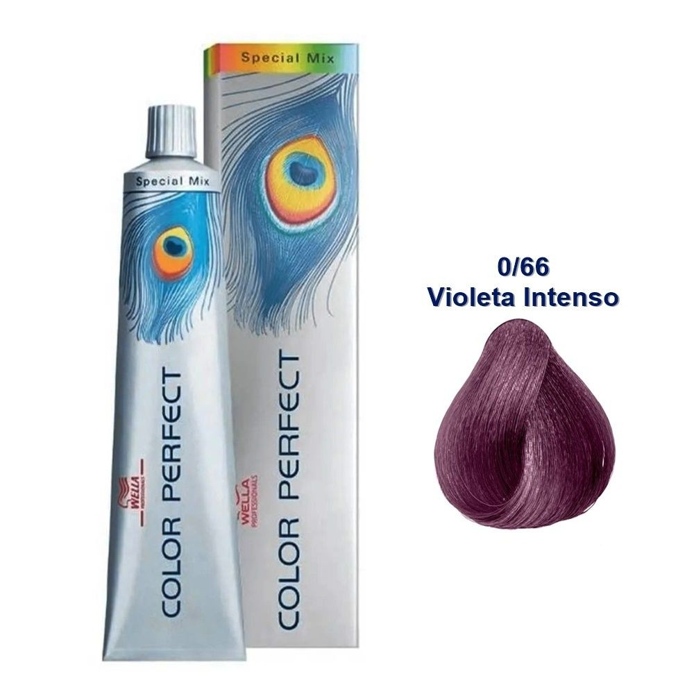 Wella Coloração Clareadora Professionals Color Perfect Special Mix 0/66 Violeta Intenso 58g/60ml