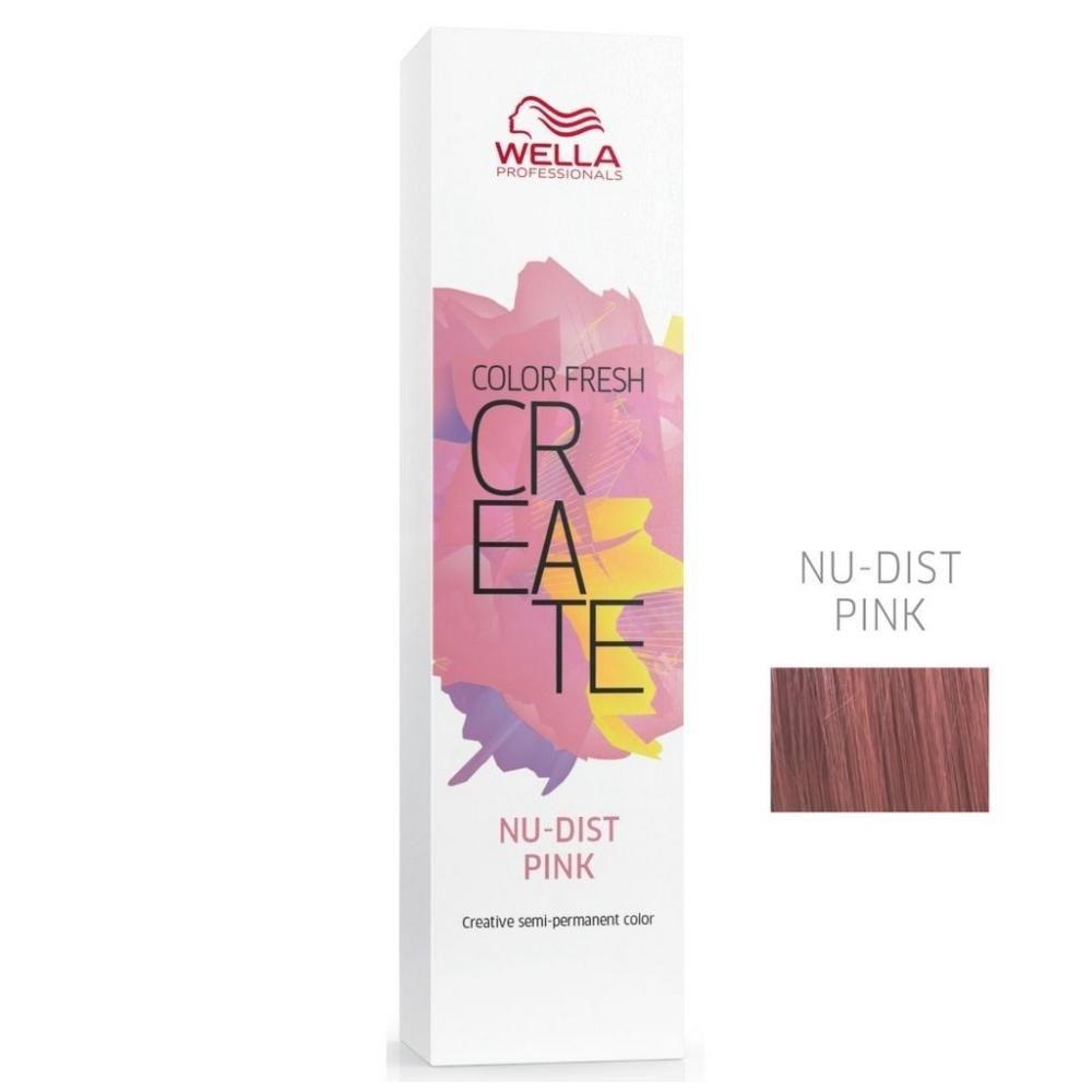 Wella Coloração Color Fresh Create Nu-Dist Pink - Semipermanente 60G