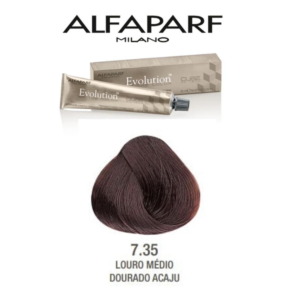 Alfaparf Coloração Evolution 7.35