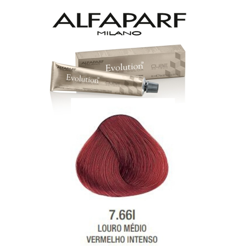 Alfaparf  Coloração Evolution 7.66i