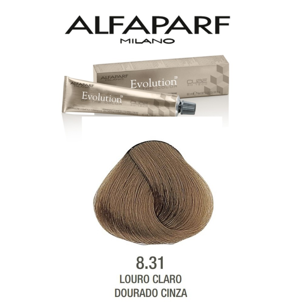 Alfaparf Coloração Evolution 8.31  60 ml