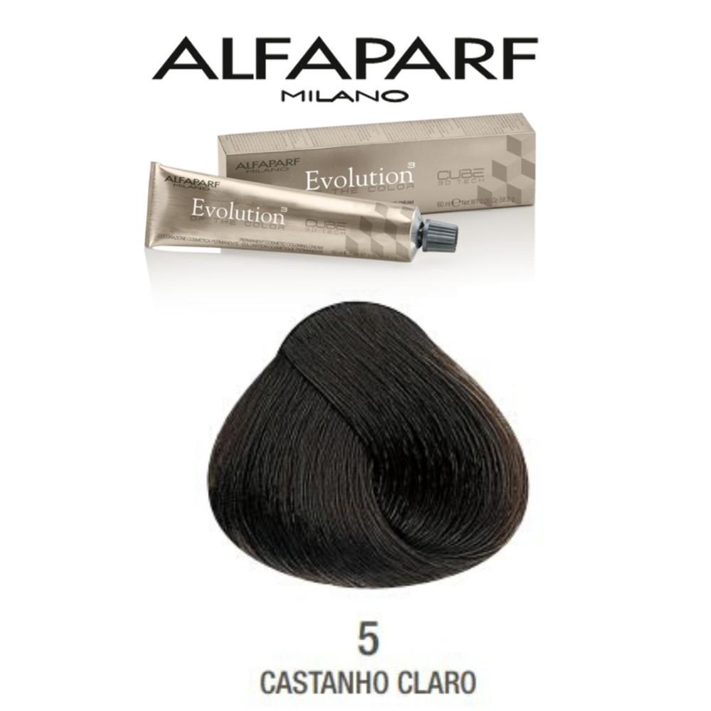 Alfaparf Coloração Evolution nº5 - Castanho Claro