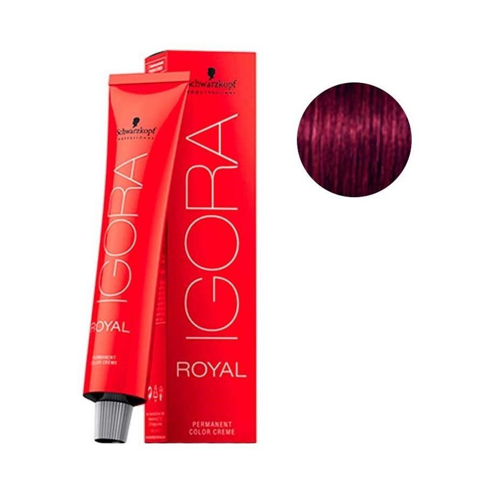 Schwarzkopf Igora Royal Coloração Castanho Claro Violeta Extra - 5.99