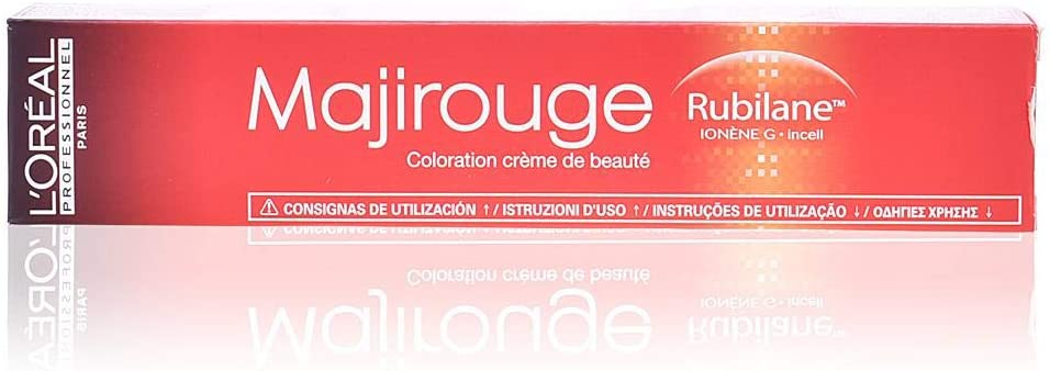 L'Oréal Coloração Majirougue 8.43 Louro Claro Acobreado Douraro 50g