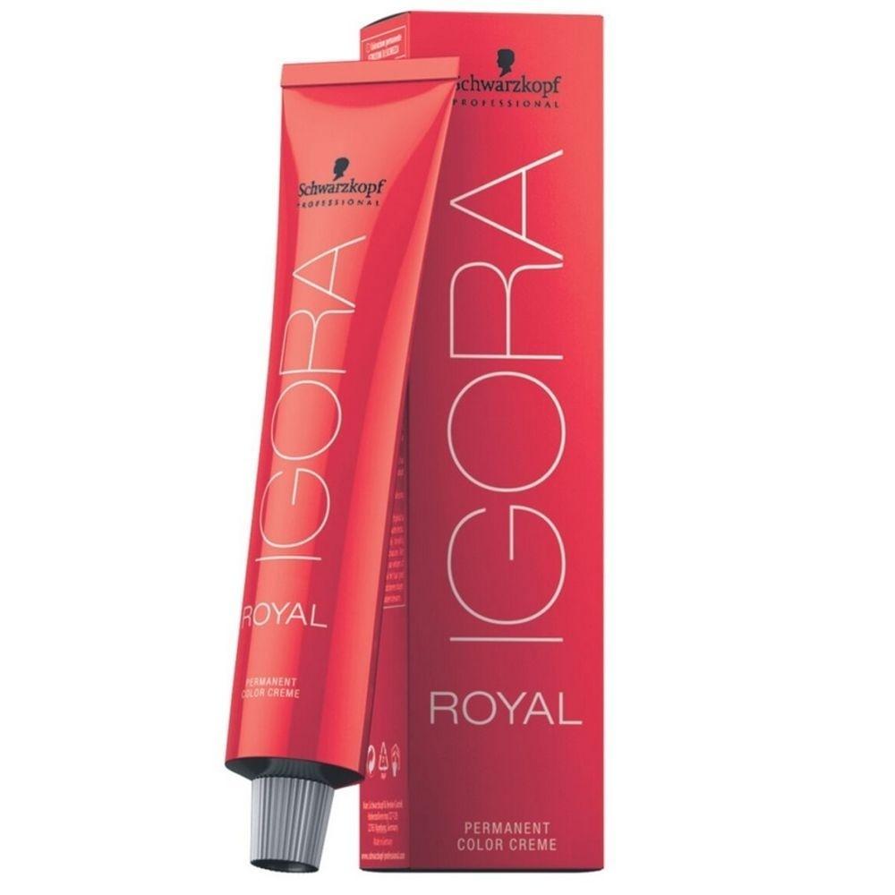Schwarzkopf Professional Igora Royal Coloração 3-0 Castanho Escuro Natural 60ml