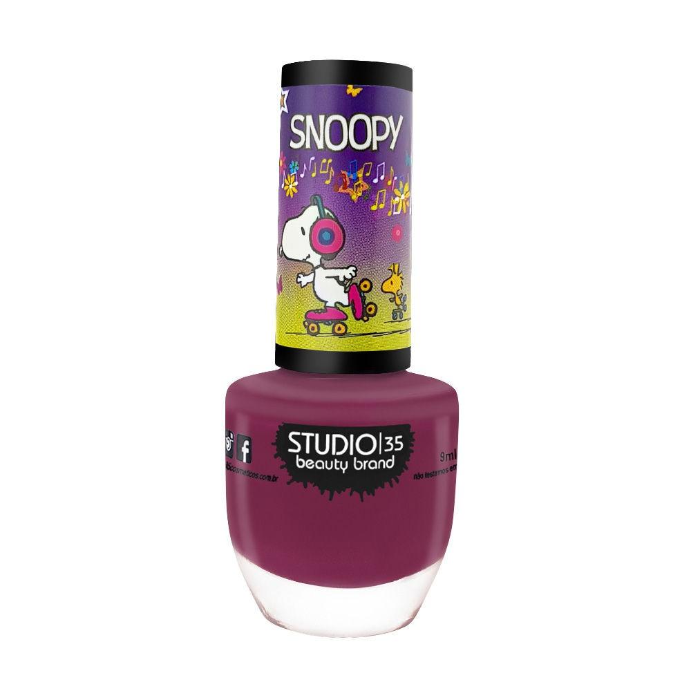 Studio35 Esmalte Coleção Snoopy - #snoopypatinador 9ml