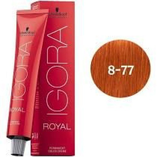 Igora Royal Tintura Louro Claro Cobre Extra 8-77
