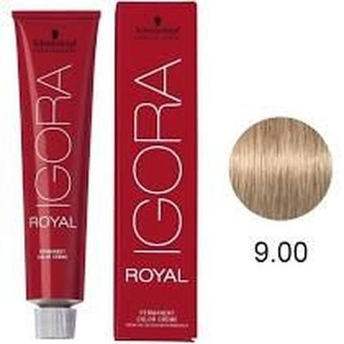 Igora Royal Tintura Louro Extra Claro Natural 9-0