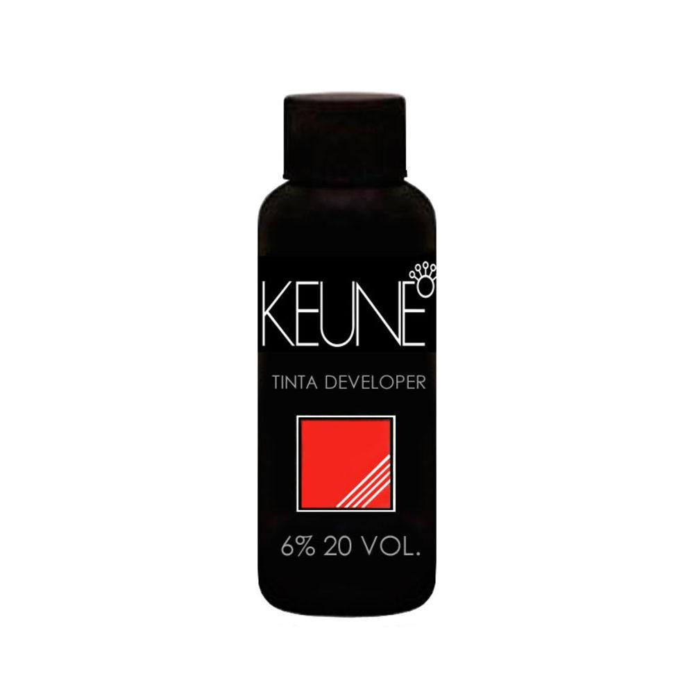 Keune Tinta Cream Developer 6% 20 Volumes Loção Oxidante 60ml