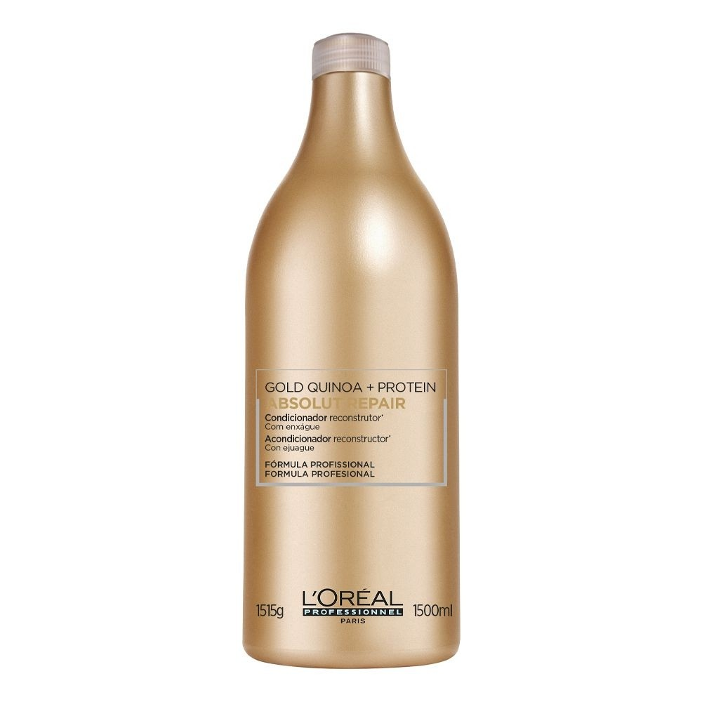 L'oréal Absolut Repair Gold Quinoa + Protein condicionador 200ml