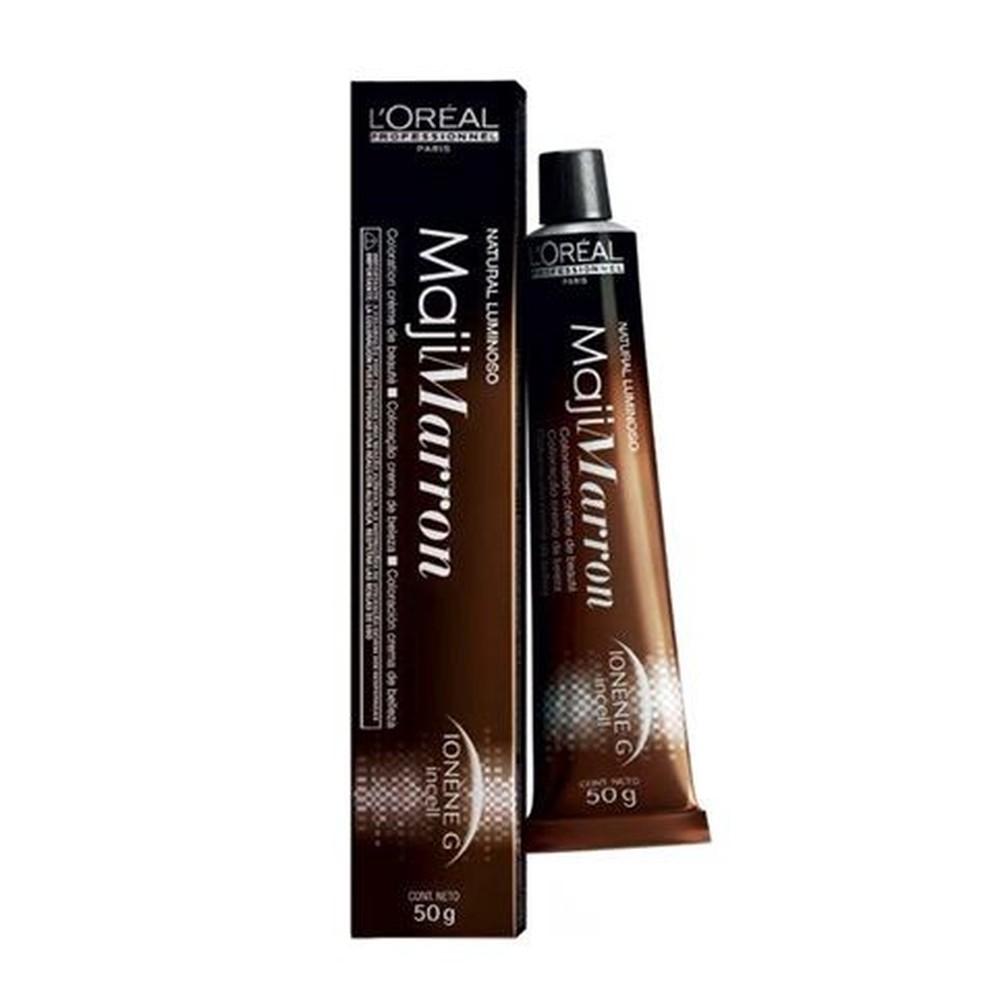 L'oréal Professionnel - Coloração Majimarrom Nº 6.8 Louro Escuro Marrom Natural Luminoso - 50g