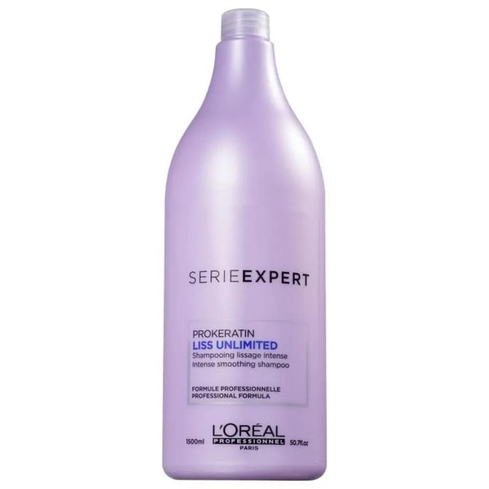 L'Oréal shampoo liss unlimited keratin prof 1.500 ML