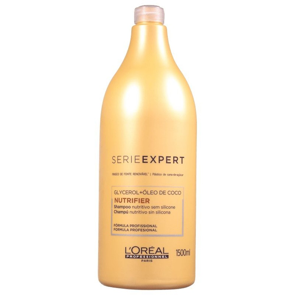 L'Oréal Shampoo Nutrifier Glycerol + Óleo de Coco 1500ml