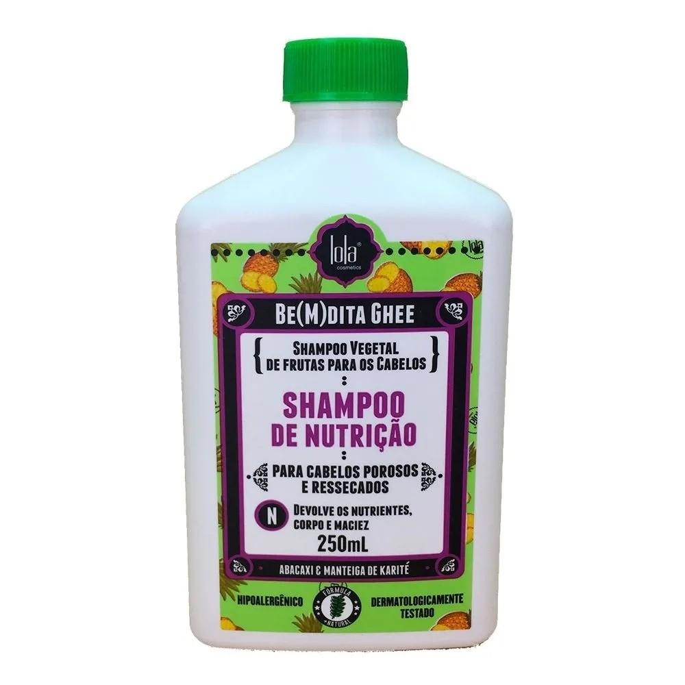 Lola Be(M)dita Ghee de Nutrição Abacaxi - Shampoo 250ml