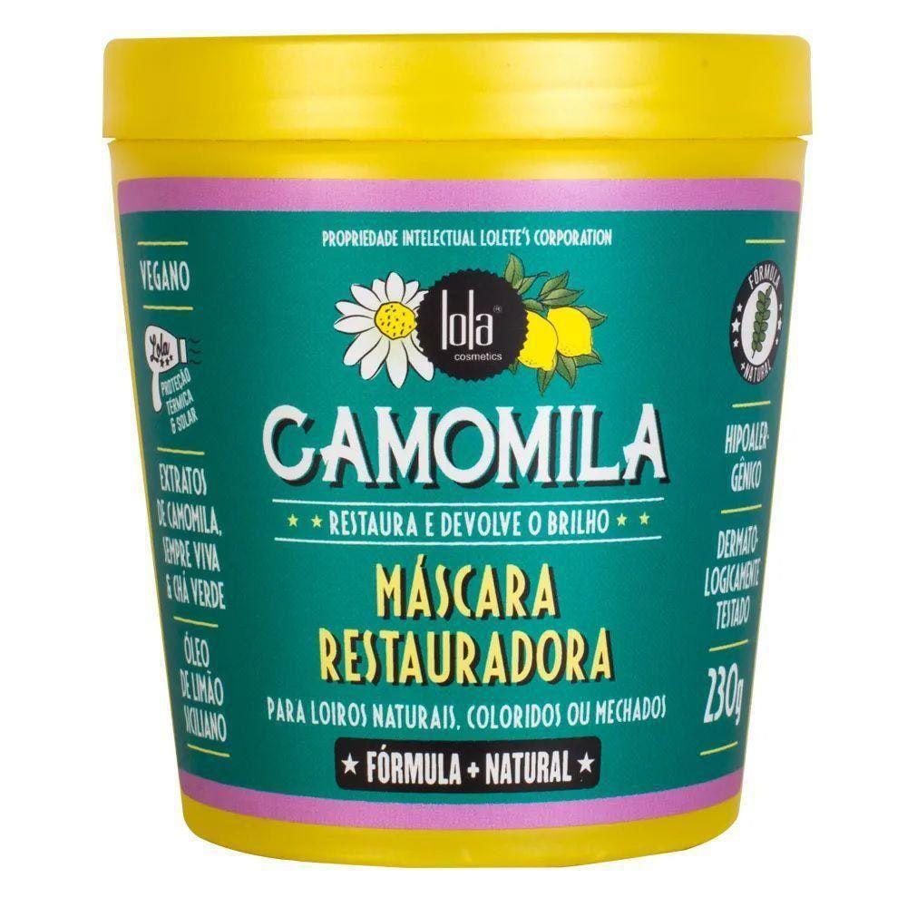 Lola Mascara Restauradora de Camomila 230g