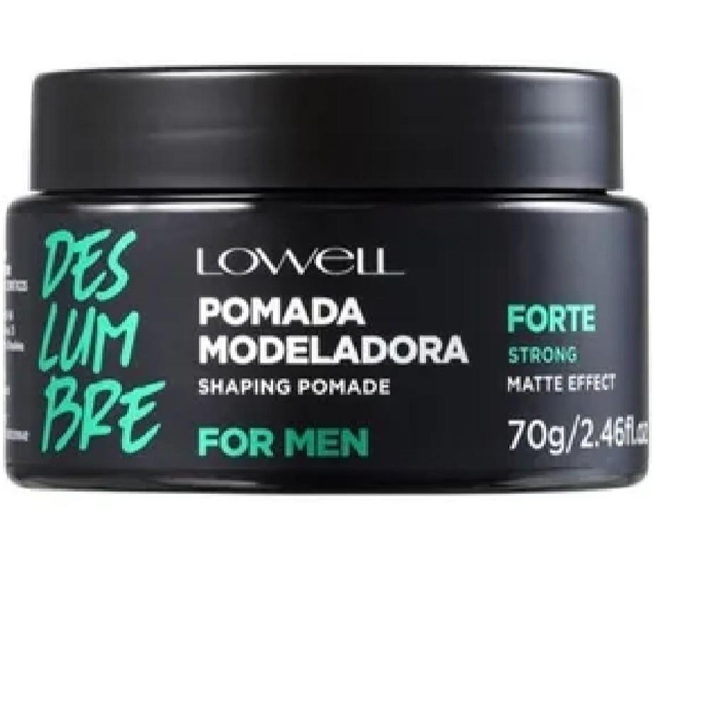 Lowell Deslumbre For Men Forte - Pomada Modeladora 70g