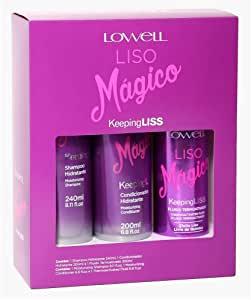 Lowell Kit Liso Mágico 3 itens 640ml