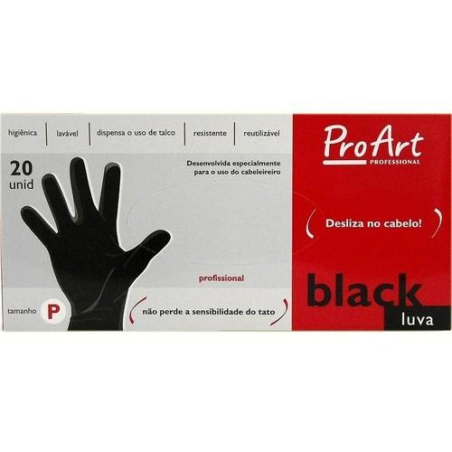Luva Black ProArt Tamanho P Caixa 20un