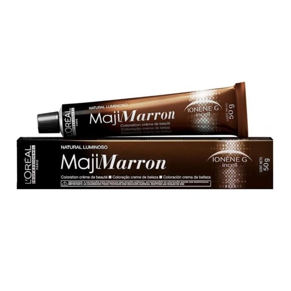 L'Oréal Majirel Marrom Louro Claro Marrom Natural Luminoso 50g