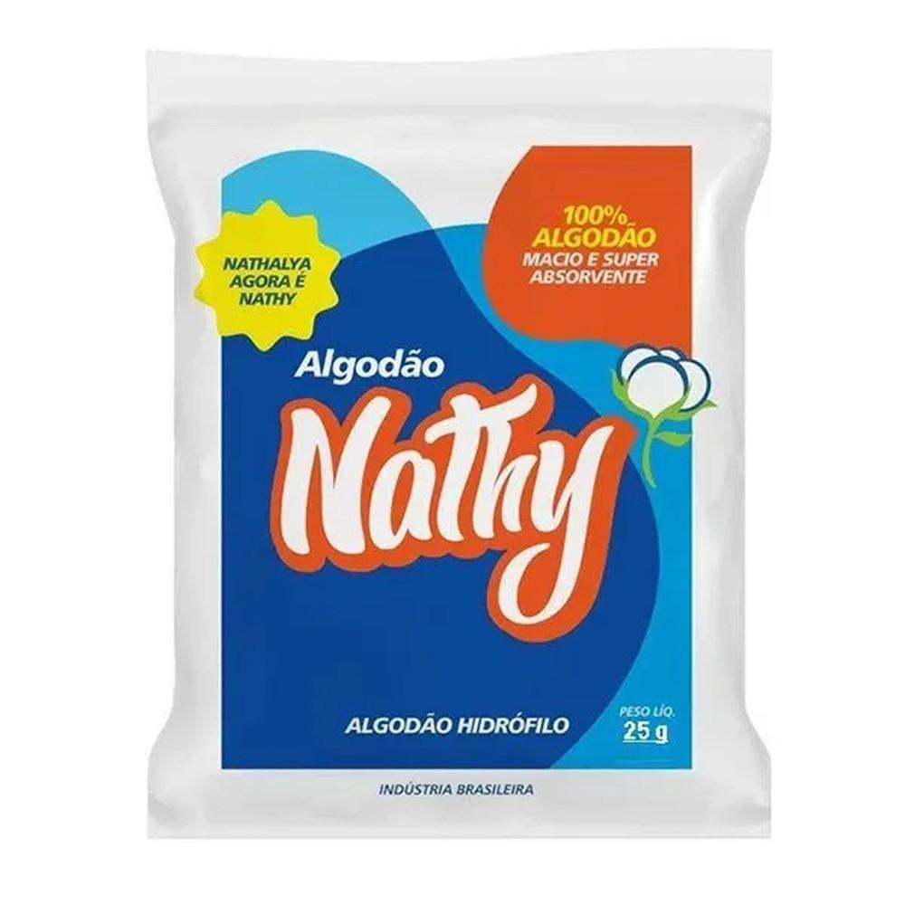 Nathy Algodão Hidrófilo 25g