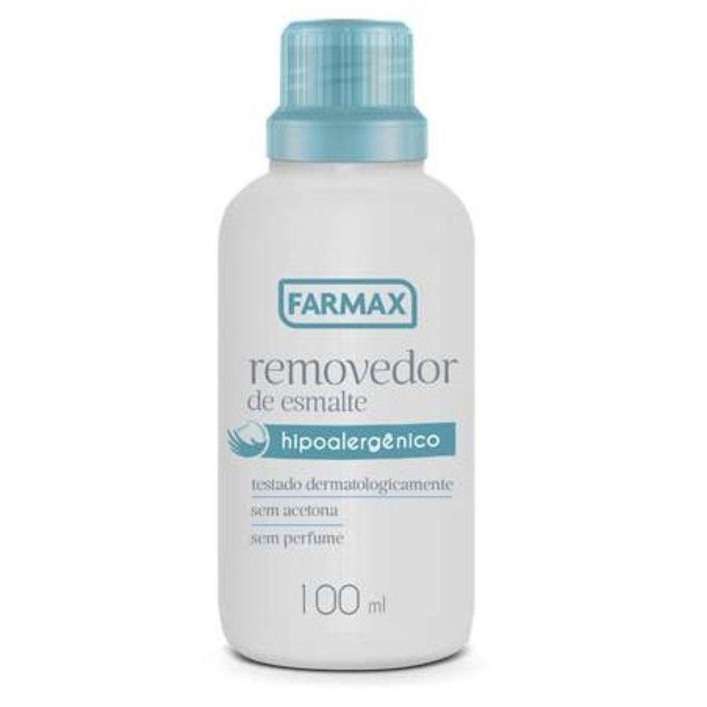 Farmax Removedor De Esmalte S/ Acetona 100ml