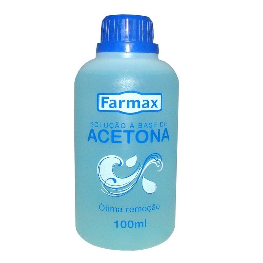 Removedor Farmax Base Acetona 100ml