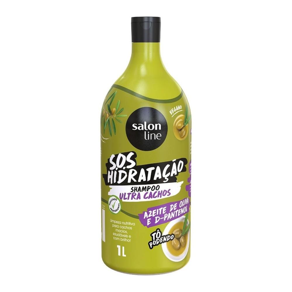 Salon Line Shampoo S.O.S Hidratação Ultra Cachos 1 litro