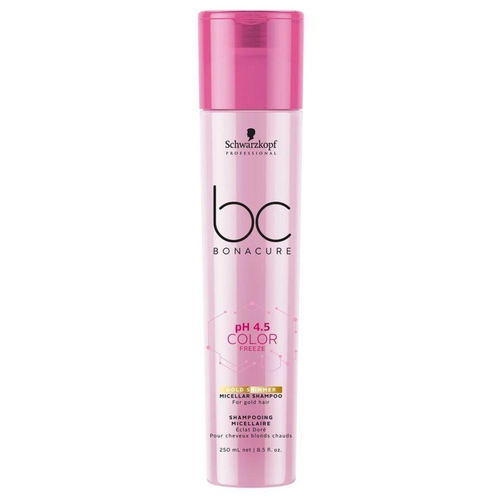 Schwarzkopf Bonacure Color Freeze Micellar Shampoo Gold 250ml