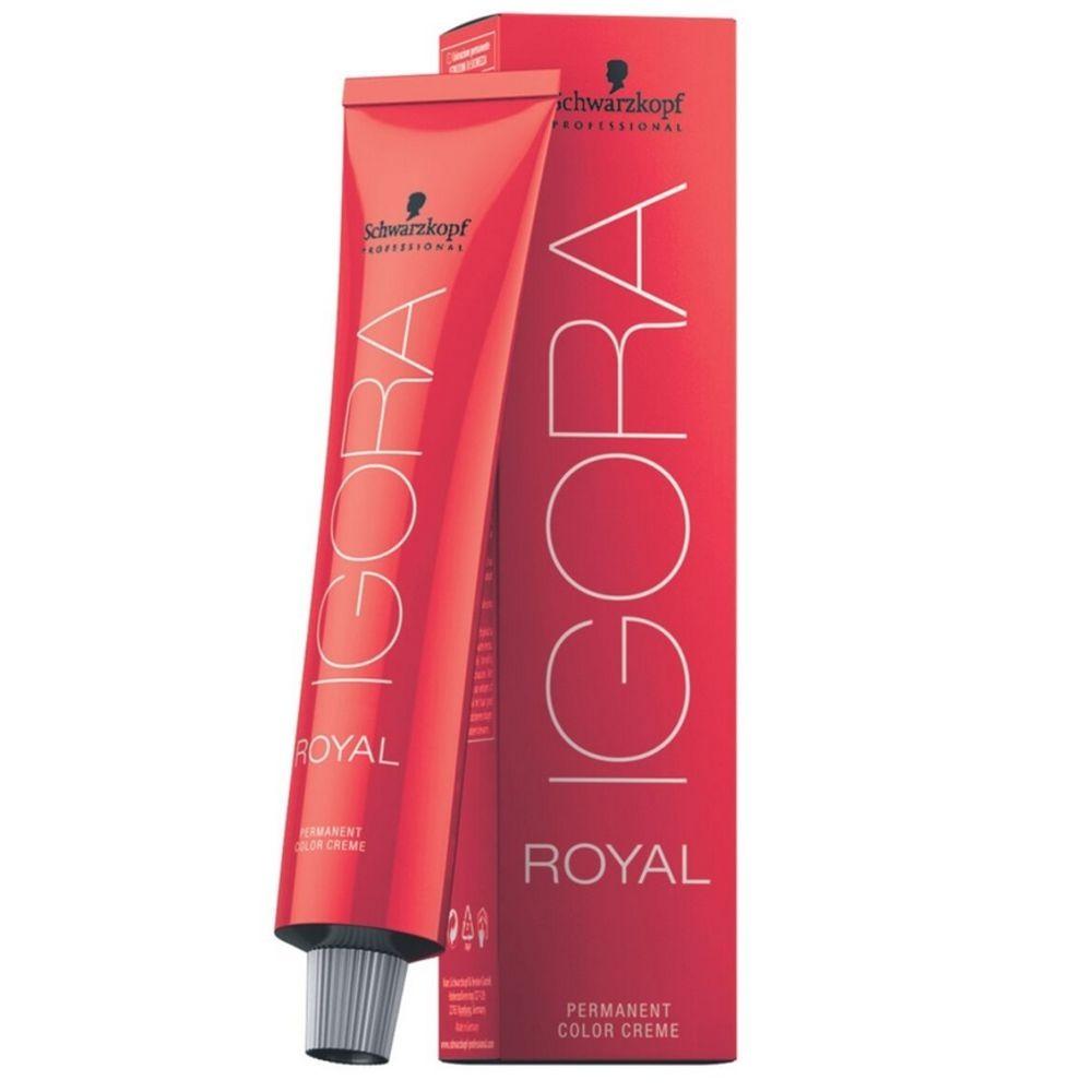 Schwarzkopf Igora Royal Coloração 8/00 Louro Claro Natural Extra 60ml