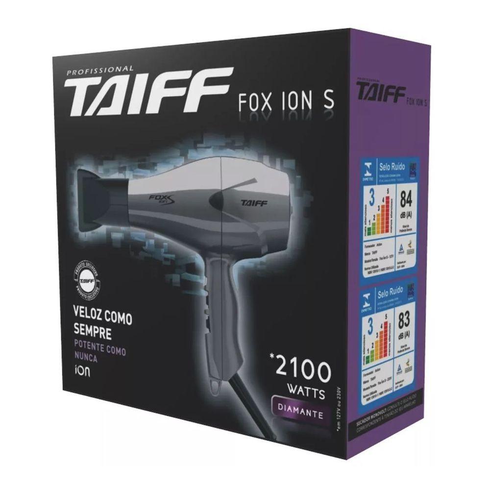 Secador De Cabelos Taiff Fox Íon S 2100w 220 Vlts