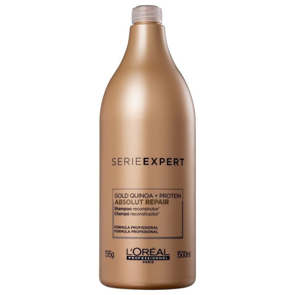 Shampoo Loreal Absolut Repair Gold Quinoa 1,5Litro