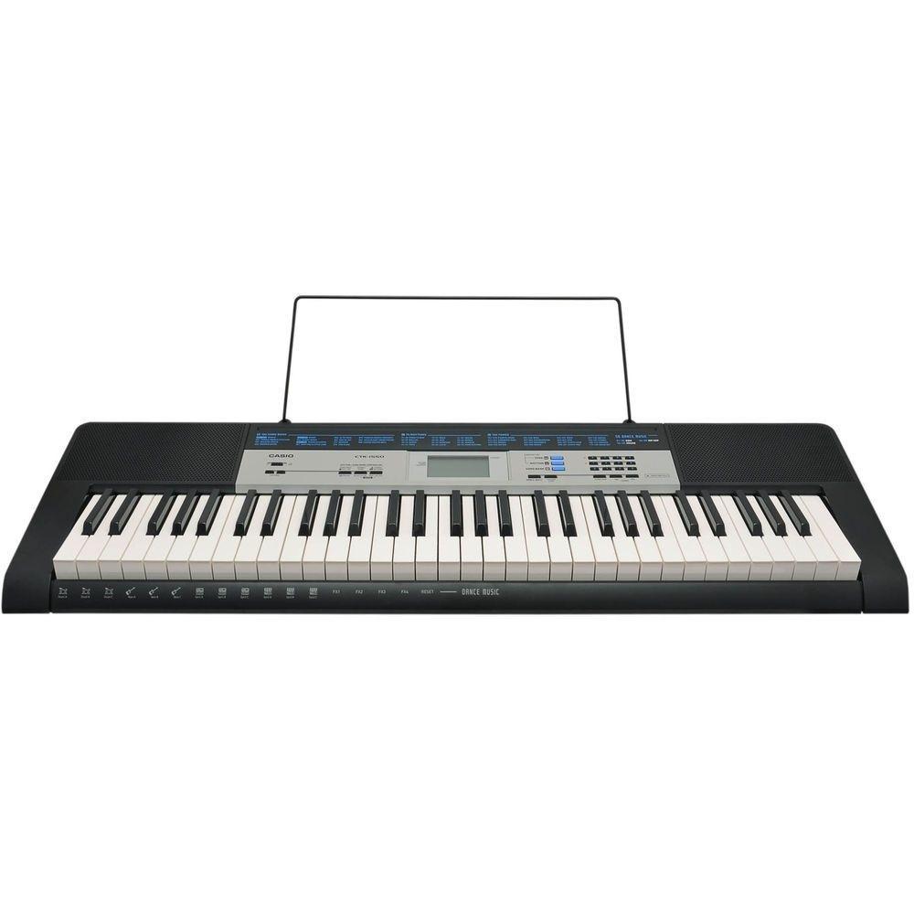 Teclado Musical Digital Casio Ctk-1550 LANÇAMENTO!