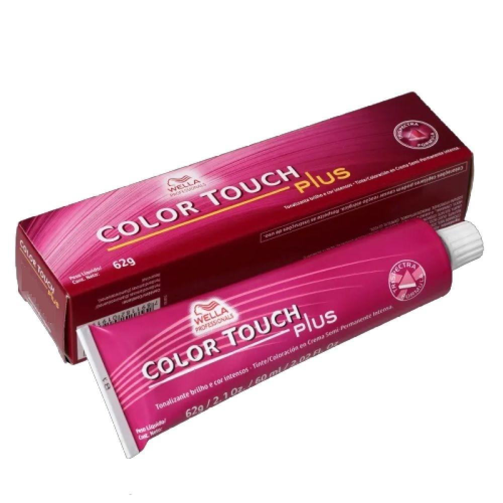 Wella Tonalizante Coloração Color Touch Plus 62g - 66/07 Louro Escuro Intenso Natural Marrom